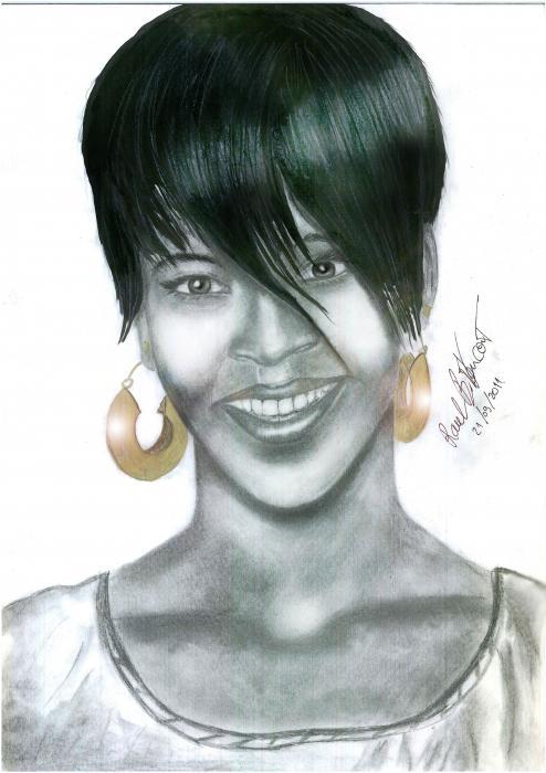 Rihanna por himurapt